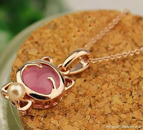 YANA Jewelry Fashion Gold Plated Cat Statement Necklace For Woman 2015 New necklaces & pendants Sale N12/5863438_YanauvelirnieizdeliyapozolotaCatsebeojereledlyajenshiniojerelyaipodveskiN123 (469x426, 107Kb)