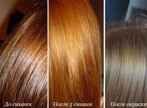 Как быстро смыть красную краску с волос в домашних условиях - Оазис