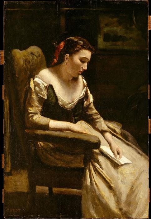 Jean-Baptiste-Camille_Corot-_The_Letter (485x700, 263Kb)