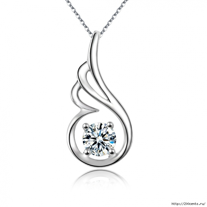2015 Summer style Simple 925 Sterling Silver Crystal Zircon Pendant Necklace Wholesale Fashion Lady Jewelry 18 Style For Choose/5863438_2015SummerstyleSimple925SterlingSilverCrystalZirconPendantNecklaceWholesaleFashionLadyJewelry182 (700x700, 152Kb)