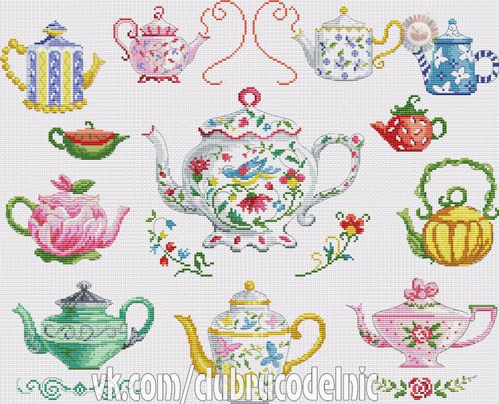 Collection de theieres (700x566, 629Kb)