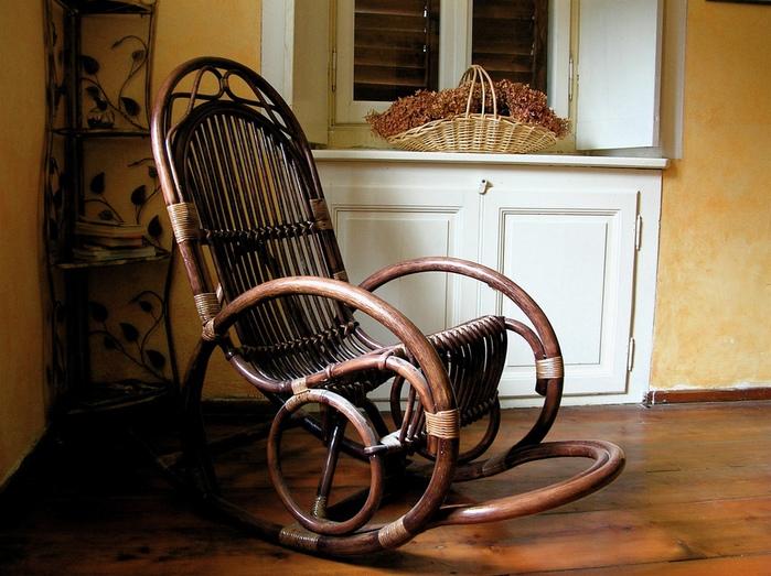 alt=Кресло качалка – романтика вашего дома!