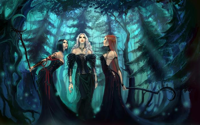 Очаровательные ведьмочки
