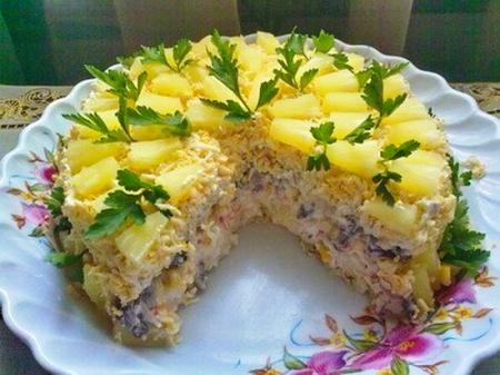 торт салат чудо (450x337, 189Kb)
