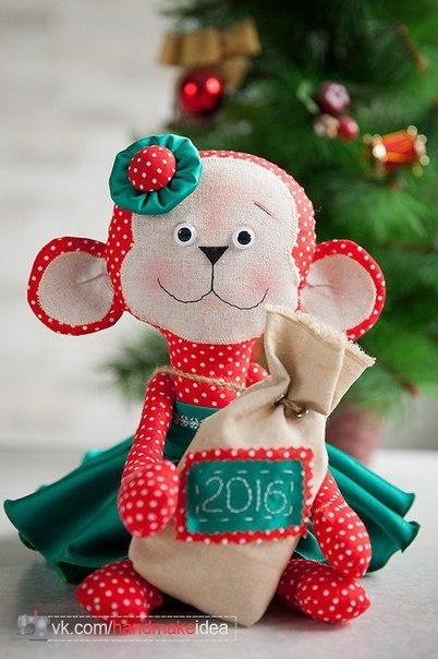 Своими руками обезьяна на новый год