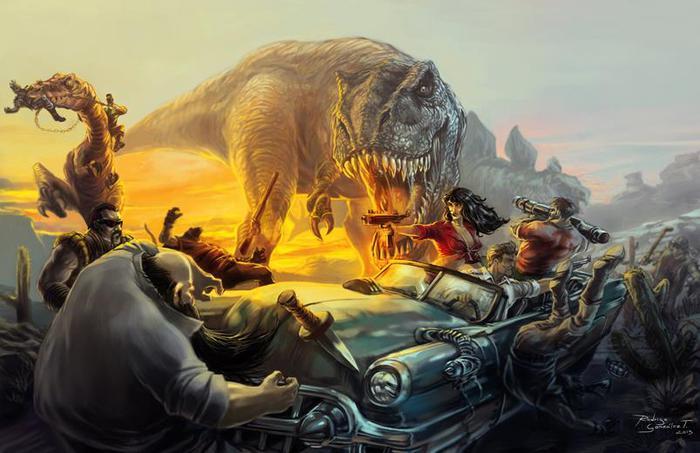 Эти древние государства появились почти сразу после динозавров