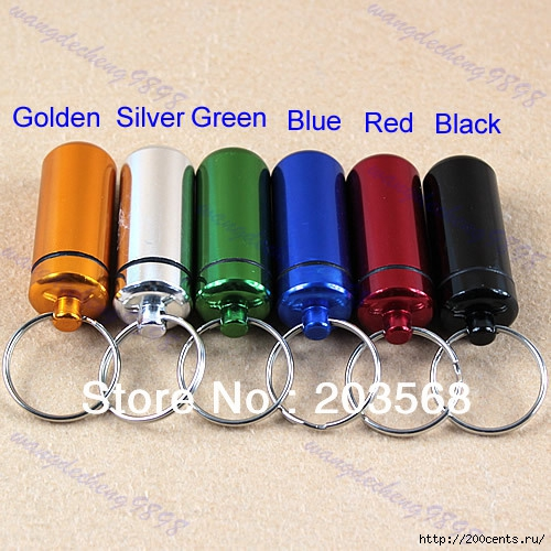 M65 WaterProof Pill Cache Drug Holder Aluminum Pill Box Case KeyChain 6 Colors Free Shipping/5863438_M65WaterProofPillCacheDrugHolderAluminumPillBoxCaseKeyChain6ColorsFreeShipping3 (500x500, 193Kb)