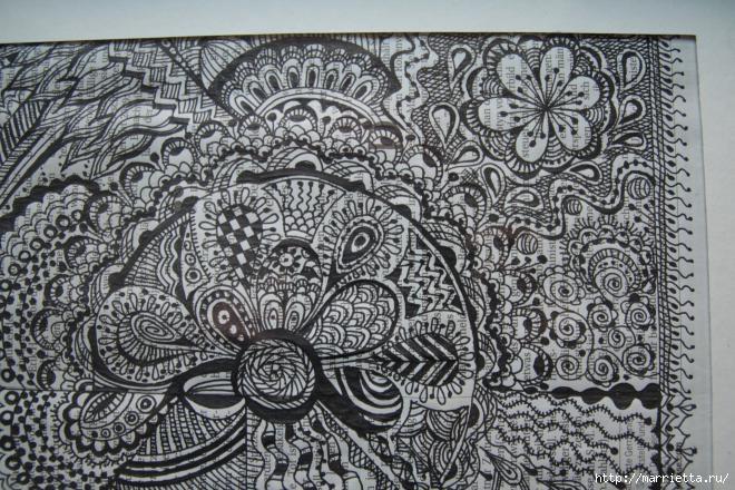 Зентагл - создаем панно и открытки ручной работы (4) (660x440, 245Kb)