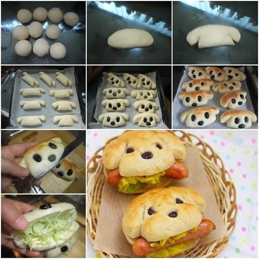 How-to-Bake-Dog-Shaped-Hot-Dog-Sandwich (526x526, 94Kb)