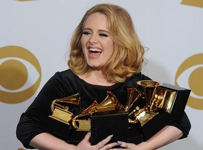 Молодая британская певица Adele выпускает новый диск