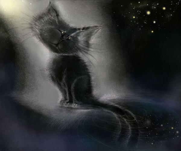 лунный кот (600x502, 155Kb)