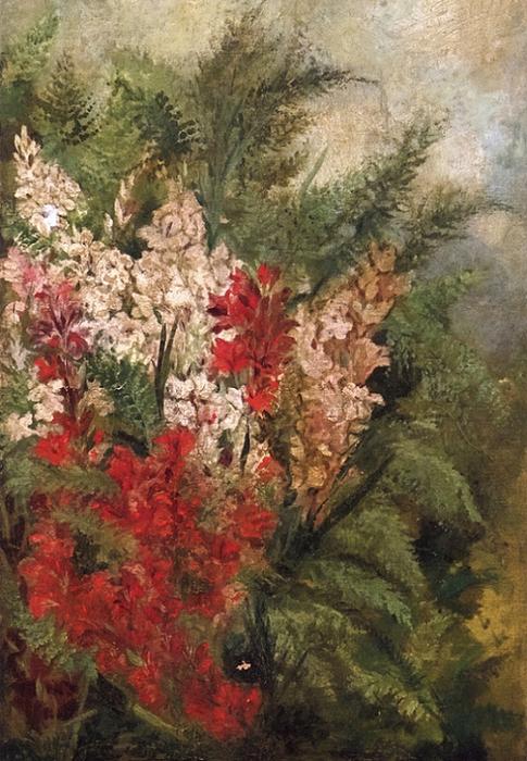 Lilies (485x700, 418Kb)