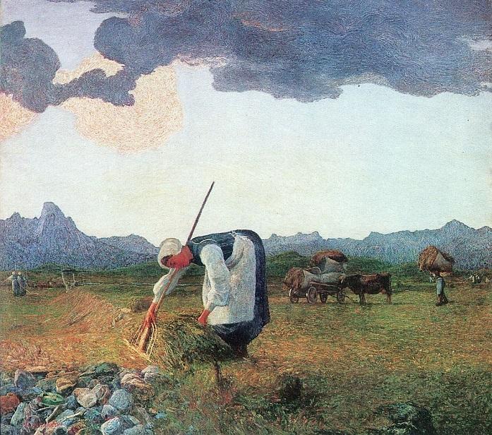 Die Heuernte 1890-1898 (697x616, 600Kb)
