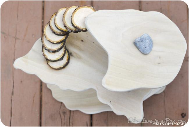 Из природных материалов. Декоративный домик для феи (9) (650x438, 133Kb)