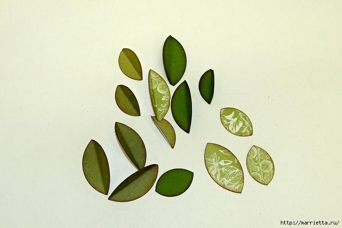 Декоративная рамка с цветущим деревом (4) (700x466, 204Kb)