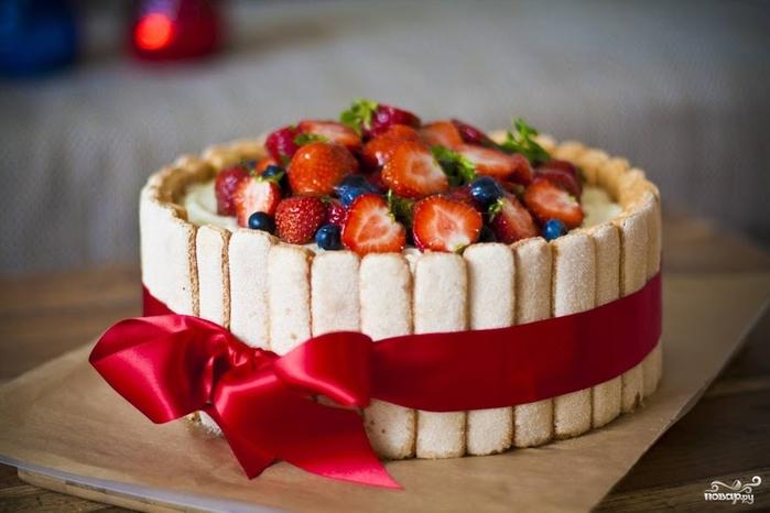 Торт для девочки на 1 год своими 70