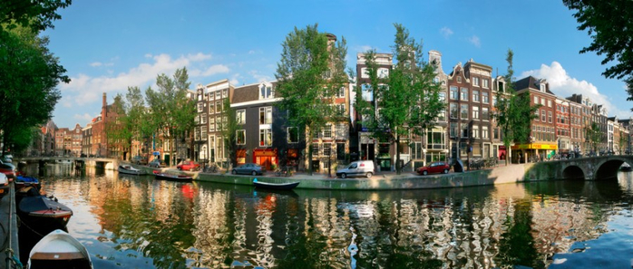 6. Амстердам (Нидерланды) (700x297, 281Kb)