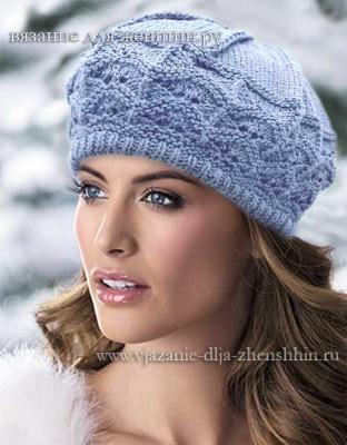 Женские шапки и береты 2015