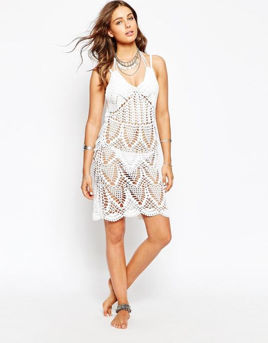 Пляжное платье кроше с открытой спиной Spiritual Hippie (548x700, 198Kb)