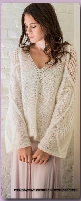свободный пуловер - Самое