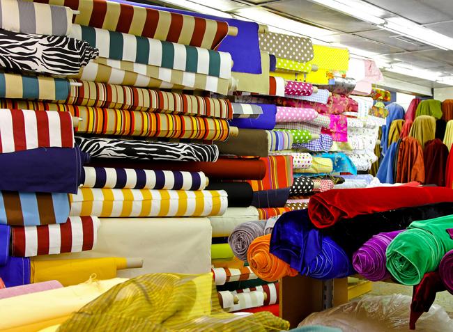 разные виды ткани