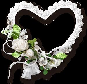Рамочки на прозрачном фоне свадебные