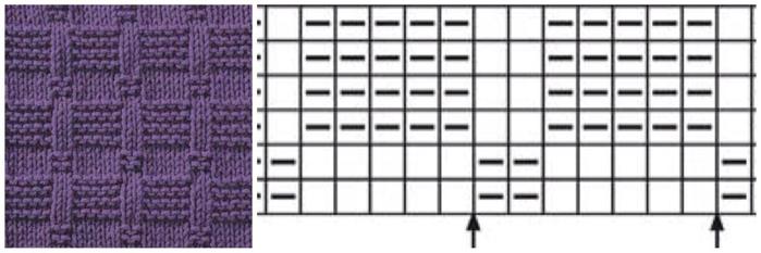 узоры спицами (1) (700x233, 134Kb)