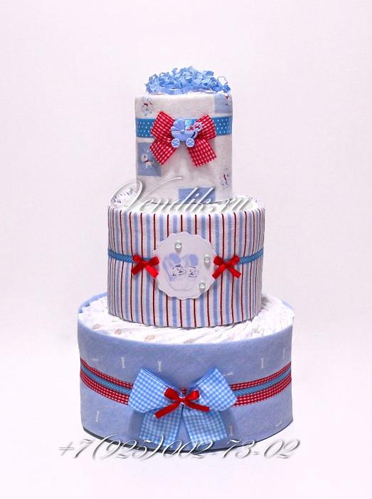 Торт из памперсов и пелёнок (3) (523x700, 313Kb)