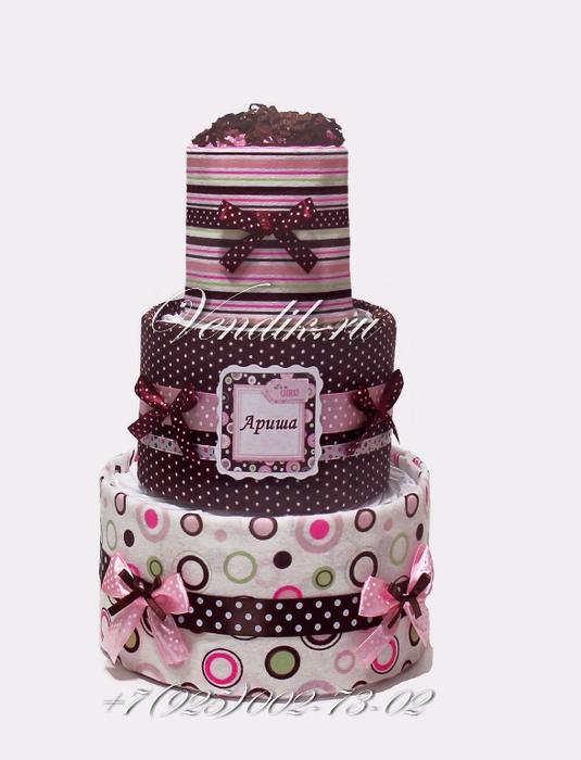 Торт из памперсов и пелёнок (5) (535x700, 200Kb)