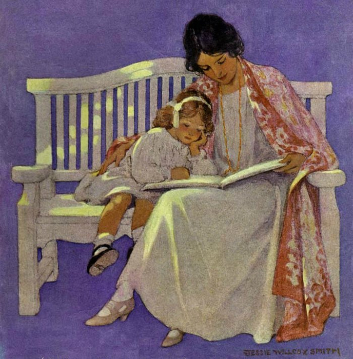 Jessie Willcox Smith15ж (688x700, 469Kb)