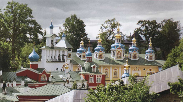 Псково-печерский монастырь видео ррр