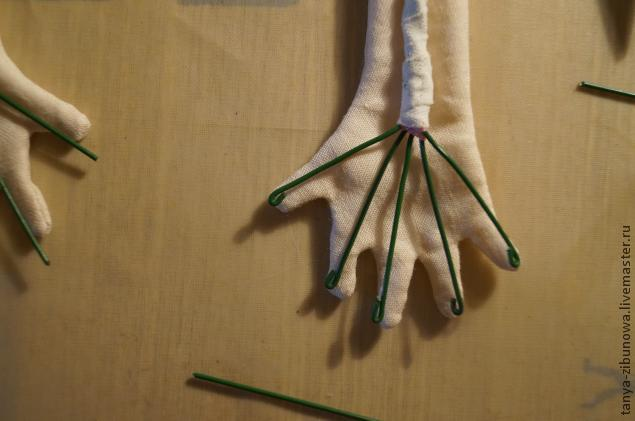 Как сделать каркасные куклы своими руками