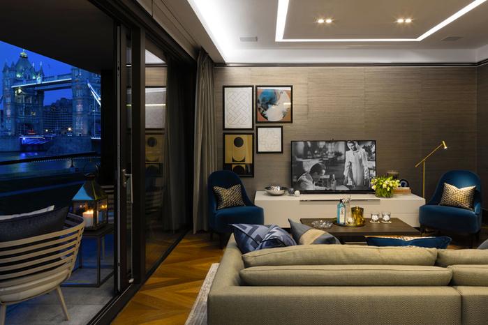 красивый дизайн современной квартиры 2 (700x466, 353Kb)