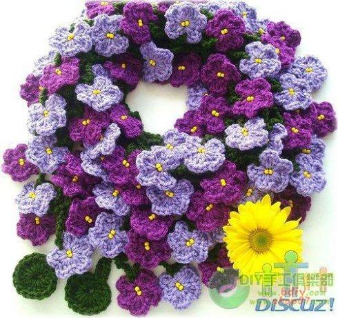 цветочный шарфик - Самое