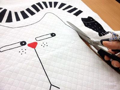 Смешная подушка КОШКА. Шьем сами (3) (400x300, 74Kb)
