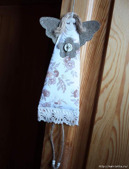 Закладки для книжки и подвески с ангелами. Идеи (2) (537x700, 234Kb)