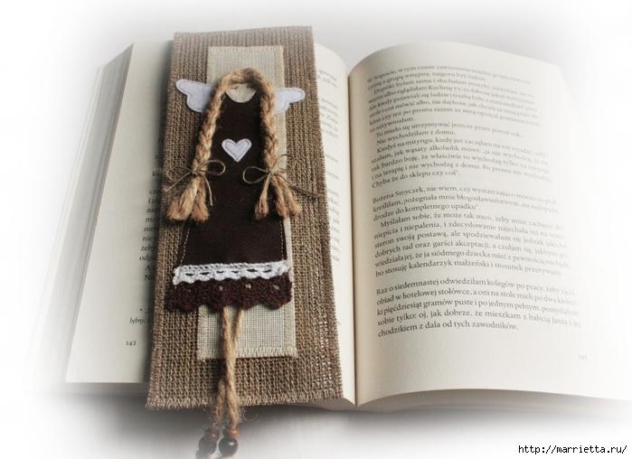 Закладки для книжки и подвески с ангелами. Идеи (14) (700x508, 220Kb)