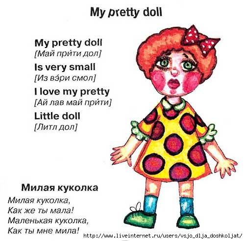Слова с картинками на английском с произношением 10