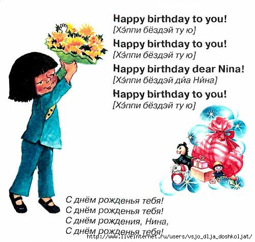 Поздравление для мамы с днем рождения на английском языке с переводом в