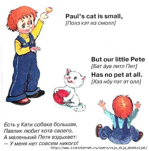 Слова с картинками на английском с произношением 15