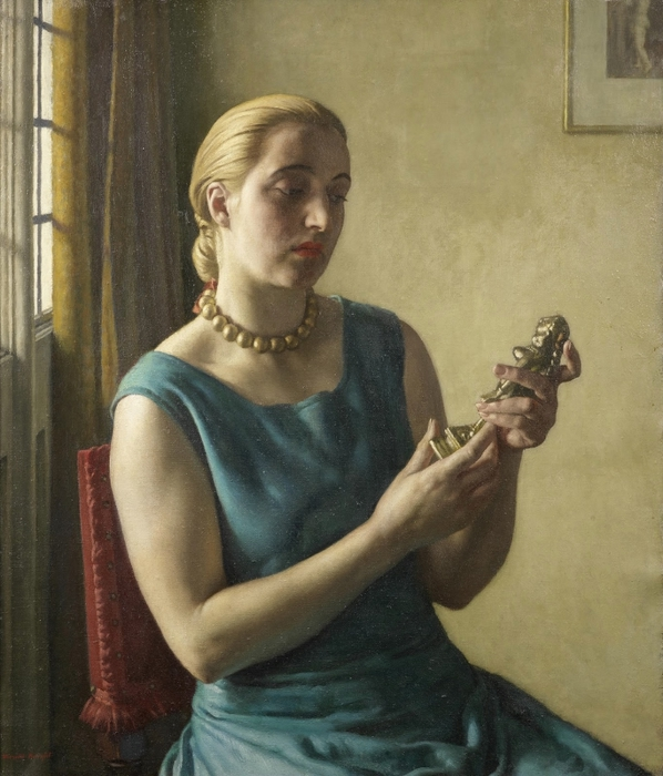 Латунная богиня (The Brass Goddess)_82 х 69_х.,м._Частное собрание (598x700, 274Kb)