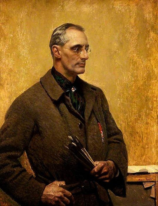 5229398_enhanced_Harold_Knight_selfportrait_1923 (538x700, 137Kb)