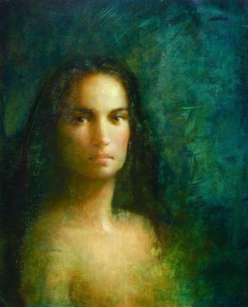 темноволосая девушка (500x619, 283Kb)