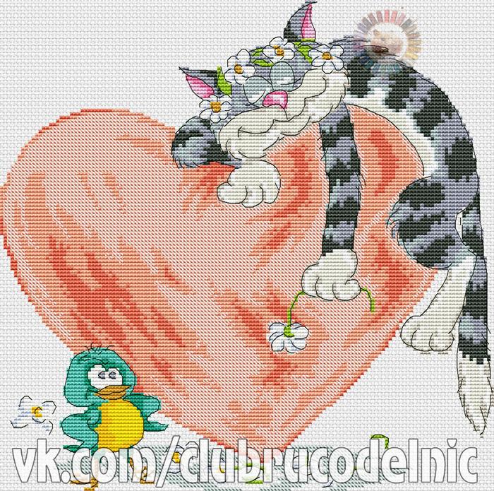 Feel in love (700x695, 805Kb)