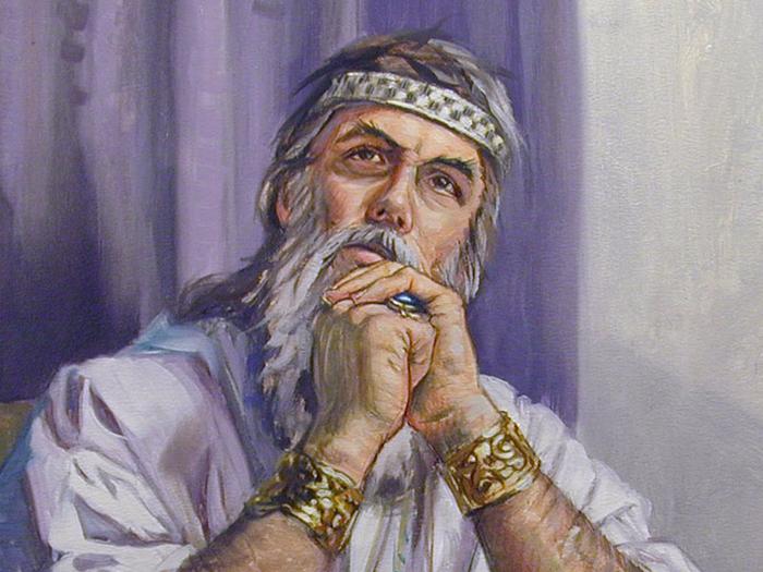 Соломон в раздумье (700x525, 463Kb)