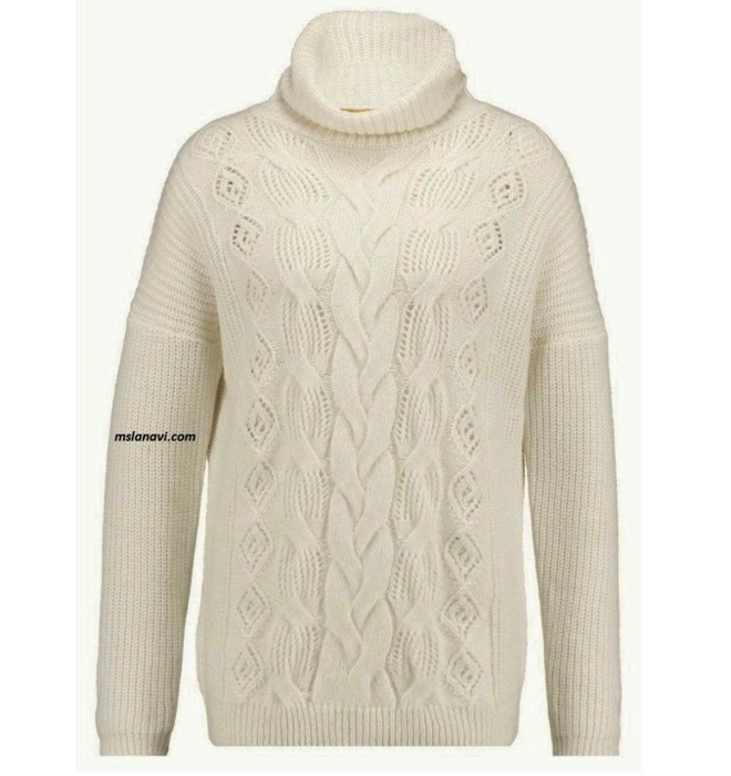 Белый-свитер-спицами-966x1024 (660x700, 272Kb)