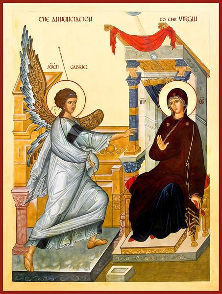 Благовещение Пресвятой Богородицы (453x600, 137Kb)