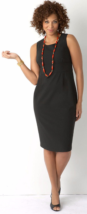 Dresses-for-Women-Sheath-Dress-Plus-size-styling-with-necklace-glamcheck.com_ (287x700, 118Kb)