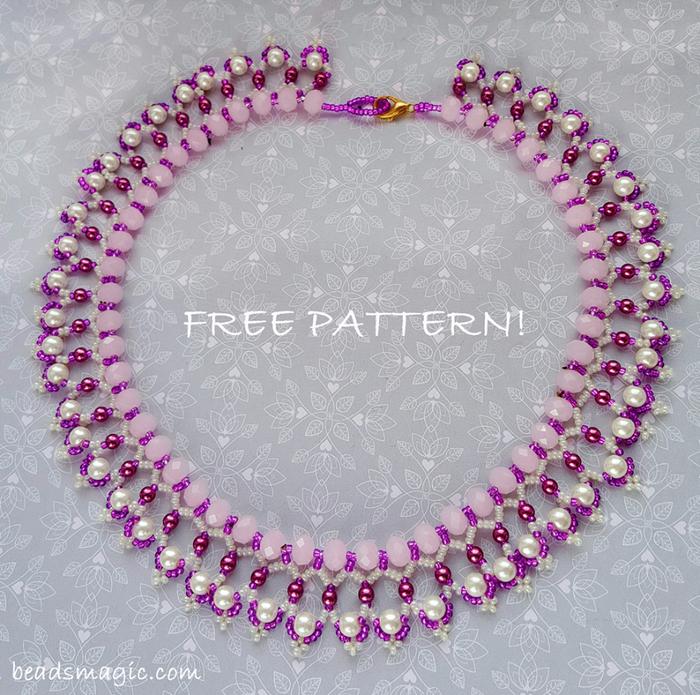 free-beading-necklace-tutorial-pattern-tila-drops-1 (700x695, 617Kb)