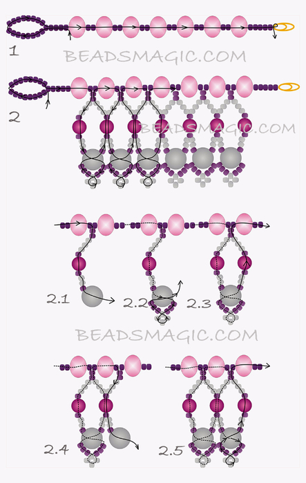 free-beading-necklace-tutorial-pattern-tila-drops-2ya (443x700, 219Kb)